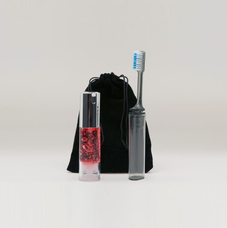 Kit dentifrice effet gloss